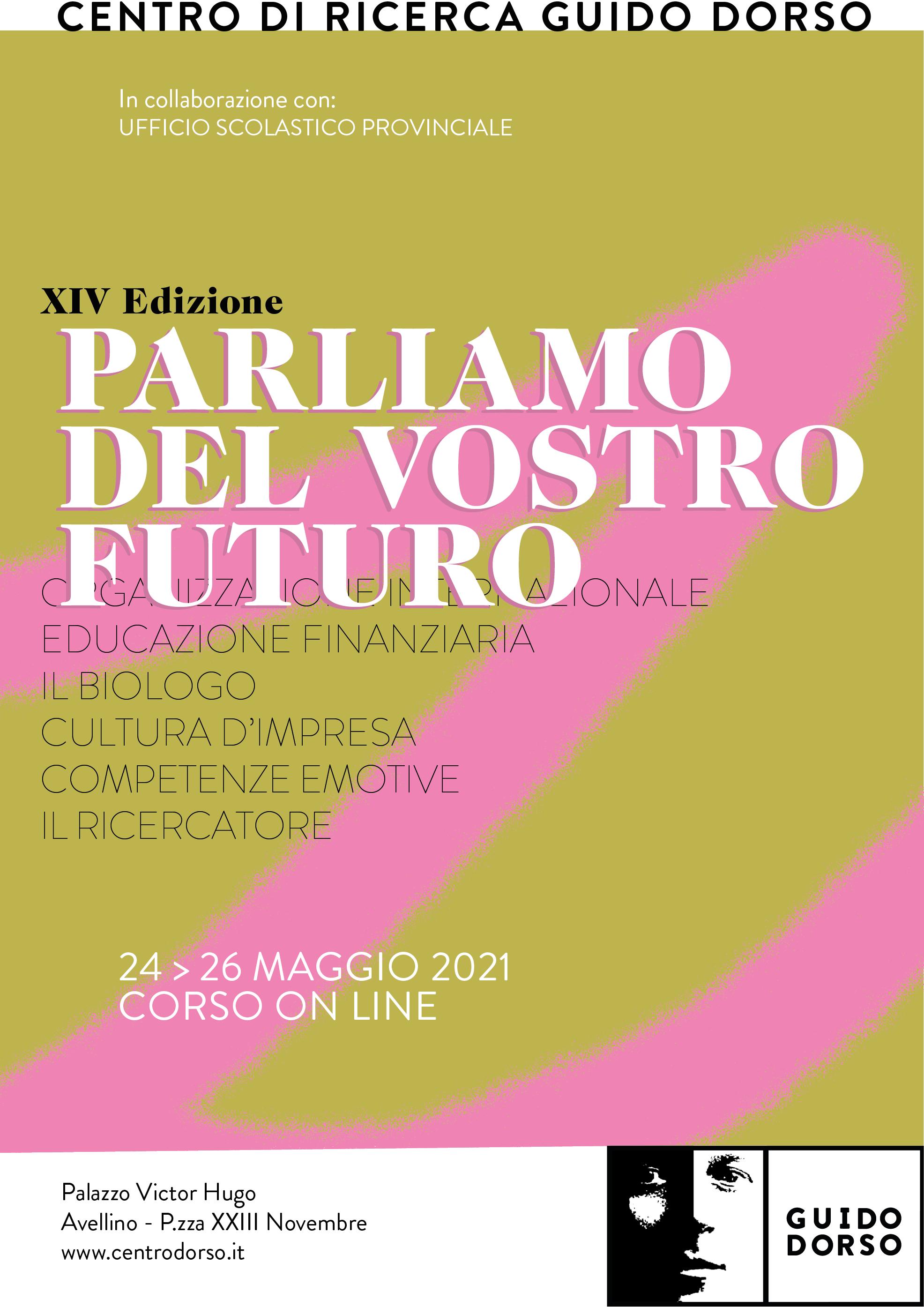 Parliamo del vostro futuro 2021 @ Alta Irpinia
